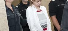 Борислава Кючукова беше последната задържана под стража. Снимка: БГНЕС